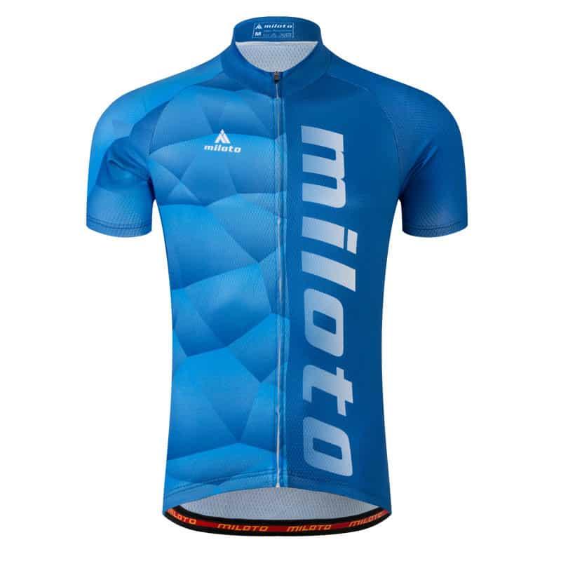 tricou bicicleta miloto albastru deschis
